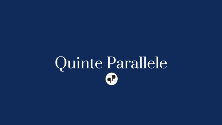 Logo di quinte parallele che ha recensito un concerto di samuele telari