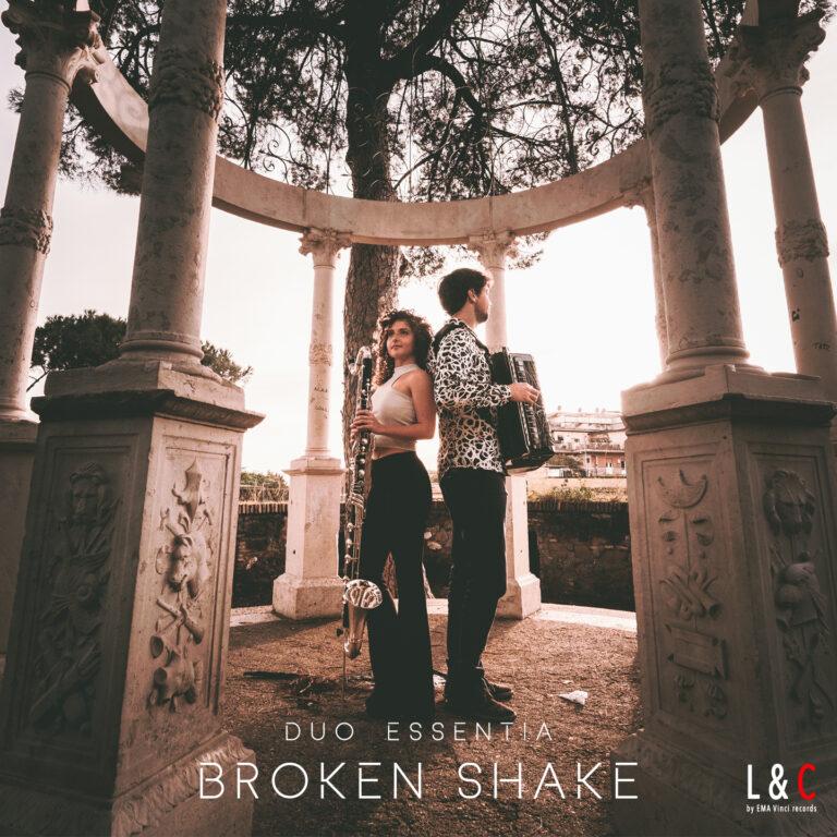 Samuele telari e alice cortegiani duo essentia copertina cd broken shake