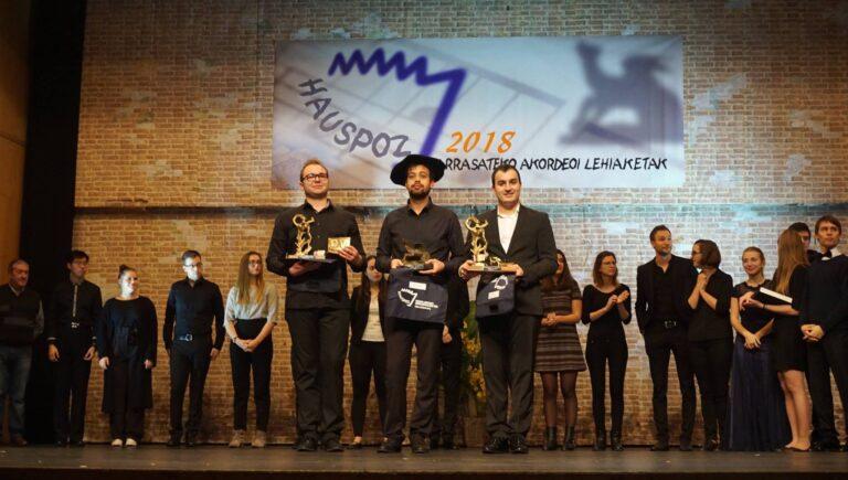 Samuele telari vincitore del concorso arrasate hiria 2018
