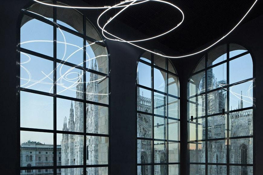 interno del museo del novecento milano