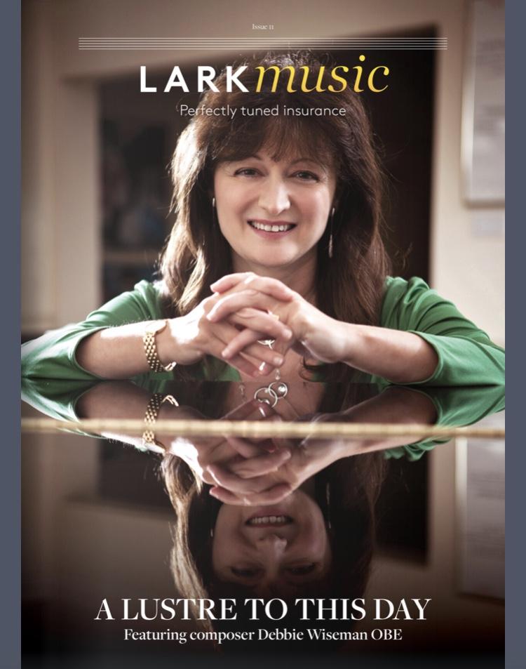 Copertina LARK music magazine