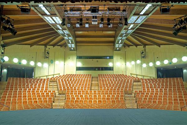 teatro auditorium trento