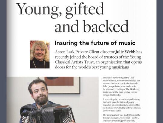 Articolo su lark music magazine di samuele telari deal